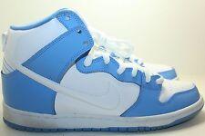 Nike Dunk High Premium SB NORTH CAROLINA UNC RIVAL PACK WHITE BLUE 313171-411