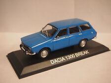 Dacia 1300 Estate / Renault 12 Raíces 5 puertas en Azul 1/43rd Escala