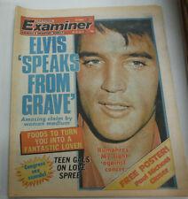 National Examiner Magazine Elvis Presley & Humphrey September 1977 081415R