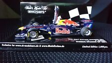 Minichamps 1/43 Sebastian Vettel Red Bull Racing RB7 2011 Spanish GP #1 Ltd Edn