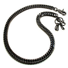 "Basic Strong Leash Heavy Biker Trucker Key Jean Wallet Chain (31"") Black CS11BLK"