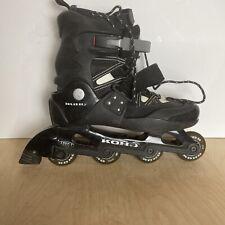 New listing Koho Abec-1 Black Inline Hockey Skates Rollerblades Size 12 US