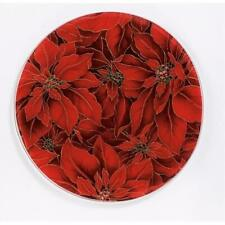 Andreas TR-16 Poinsettia Silicone Trivet - Pack of 3