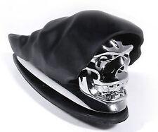 garde de boue avant tete de mort  moto chopper skull crane accessoir moto ripper