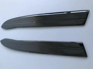 For BMW 5 Series F10 F11 Rear Bumper ABS Gloss Flaps Addons Splitters