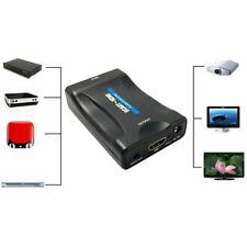 CONVERTITORE DA SCART A HDMI ADATTATORE VIDEO AUDIO STEREO TV 1080P FULL HD SC0