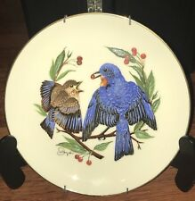"Gunther Granget ""The Fledgling"" Collector Plate, Special Mount,1978,Summer"