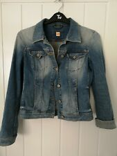 Hugo Boss Orange  Woman Denim Jacket size 10-12 great condition