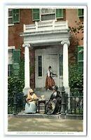 Postcard Starbuck House, Main Street, Nantucket MA Mass phostint H36
