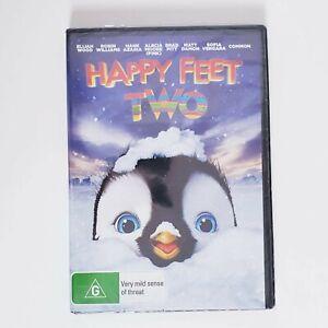 Happy Feet Two 2 DVD Children's Movie Region 4 AUS Kids Family Action Warner Bro