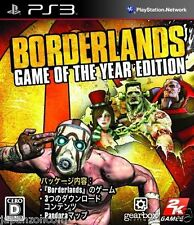 Used PS3 Borderlands PLAYSTATION 3 SONY JAPAN JAPANESE IMPORT
