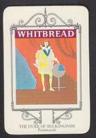 Whitbread - Inn Signs Portsmouth 1973 - # 9 Duke Of Buckingham - Portsmouth