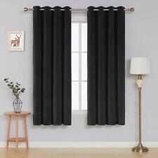 Deconovo Room Darkening Super Soft Grommet Velvet Curtains