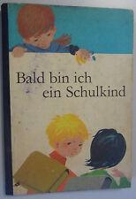 DDR Lehrbuch==Bald bin ich ein Schulkind==Volk+Wissen/1969/ DDR-Fibel-Vorschule