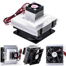 TEC-12706 Thermoelectric Peltier Refrigeration Cooling System Kit Cooler Fan DIY