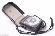 NICE*  GOSSEN SIXTAR CDS LIGHT, EXPOSURE METER 'GERMANY' W/ CASE & STRAP