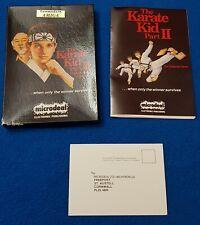 Karate Kid 2 Amiga or Atari ST. BOX AND MAUNAL ONLY. NO DISK!