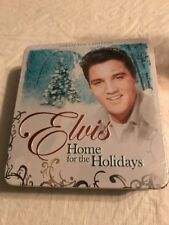 Elvis Presley Home For The Holidays Tim Box CD Set Collectors Ed. New Sealed