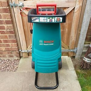 Bosch AXT 2200 Impact Garden Shredder 2200W NEW Blade Fitted with Manual
