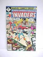 1977 MARVEL Comics THE  INVADERS  #14   VG++ to FN 30 cent Comic Book