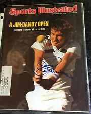Two Jimmy Connors Signed Sports Illustrated Sept 20,1976 and Sept 20 ,1982