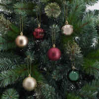 47 Pack Baubles - Heritage Christmas Tree Decorations Balls Baubles F1
