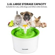 Pet Water Fountain For Cat Dog Automatic Water Drinking Bowl Dish Dispenser