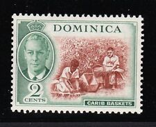 DOMINICA 1951 2c WITH 'C' OF 'CA' MISSING IN WATERMARK SG 122a MNH.