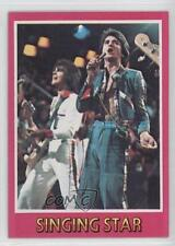 1975 Topps Bay City Rollers #2 Singing Star Non-Sports Card 0a3