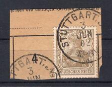 DR-Germania 69I ABART DFUTSCHES REICH gest. Luxusbriefstück (74032