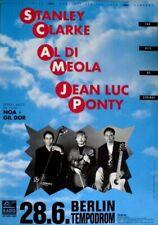 CLARKE, STANLEY - AL DI MEOLA - JEAN LUC PONTY - 1994 - Poster - Berlin