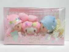 My Melody and Little Twin Stars 40th Plush doll Kiss New in Box Sanrio Kawaii