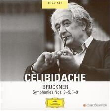 Bruckner - Symphonies Nos. 3-5, 7-9 on DG 8 cd box set Celibidache EXC