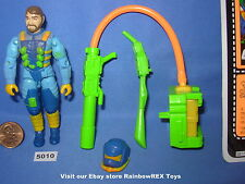 1991 OZONE Ozone Replenisher Trooper with File Card GI Joe 3 3/4 inch Figure