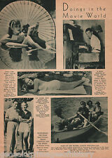1935 Movie Doings In The Screen World