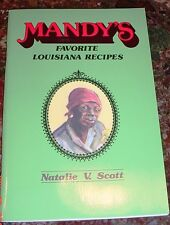 MAMMY MANDYS LOST BLACK AMERICANA COOKBOOK OLD LOUISIANA RECIPES NEGRO DIALECT
