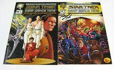 Star Trek Deep Space Nine #10 & #11 Both Signed DS9 MALIBU COMICS 1994 NR