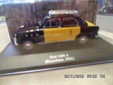 SEAT 1400 A TAXI BARCELONE 1961 1/43   E85