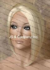 Salon Cut Asymmetrical Posh Short Bob Side skin Wig CHOOSE YOUR COLOR!