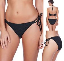 Freya Sundance Bikini Briefs Womens Rio Swim Bottoms 3975 Black Various New