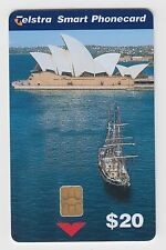 Sydney Opera House Telstra Smart PHONECARD Tallship