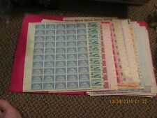LOT OU.S. 2000 THREE  CENT STAMPS  30 PLUS DIFFERENT ONES QY $60.00 face