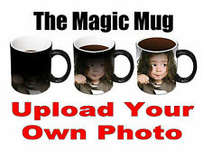 Personalised Heat Colour Changing Magic Mug - Great Birthday Gift - Photo Mug
