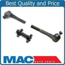 100% New Pitman Arm Tie Rods 4 Wheel Drive 3pc for Chevrolet Pick Up 1971-1986