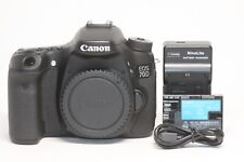 Canon EOS 70D 20.2MP Digital SLR Camera - Black (Body Only)
