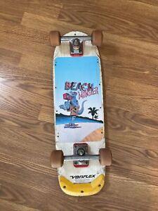Original Variflex Beach Monster Team Deck series Skateboard Vintage 1980's