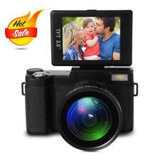 "24MP Full HD Digital Camera with 4x Digital Zoom and 3.0"" LCD Flip Screen LF748"