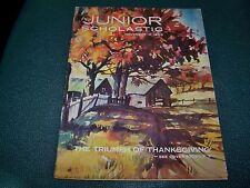 Junior Scholastic Magazine - November 1966 - The Triumph of Thanksgiving
