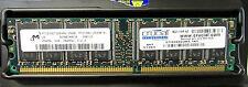 256 MB Micron MT16VDDT3264AG-265B1 Non-ECC PC2100U 266MHz DDR1 Desktop Memory