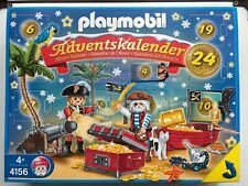 Playmobil 4156 Christmas Advent Calendar Pirates Playset 2008 New in Box Sealed